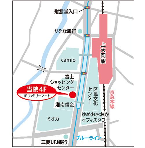 神奈川県横浜市港南区上大岡西1-16-25